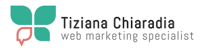 Tiziana Chiaradia – Web Marketing Specialist Logo
