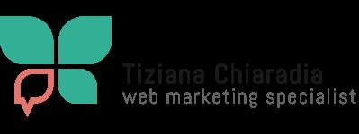 Tiziana Chiaradia – Web Marketing Specialist Logo