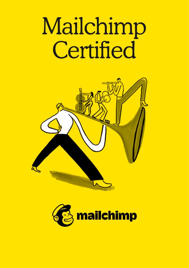 Mailchimp Academy Foundations Certification Badge Tiziana Chiaradia